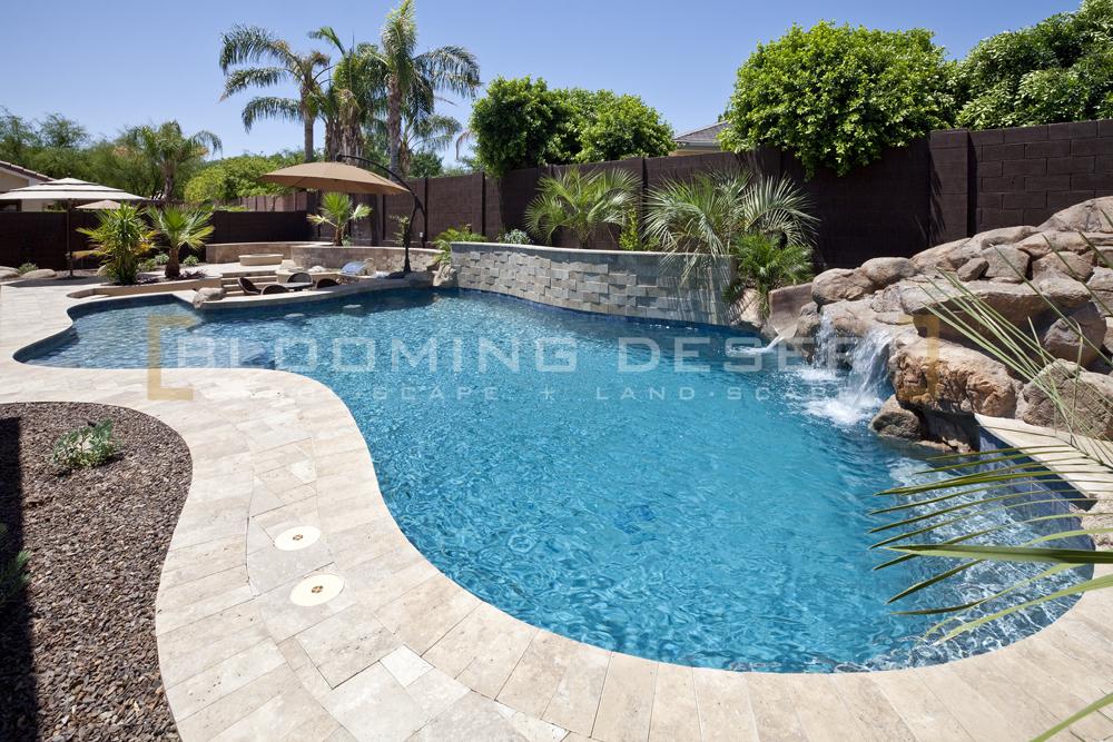 pool landscape design Archives - Blooming Desert Pools ...