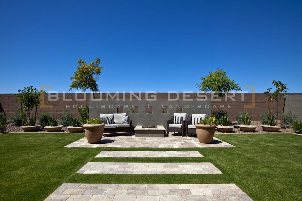 3 Modern Home Landscape Design Ideas Blooming Desert Pools
